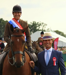 Olympic Champion, Carl Hester enjoys a 'heavenly day out' at Moreton Show