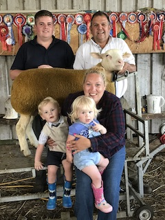 Tom Keeps It All in the Family at Moreton Show